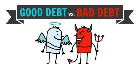 Gute Schulden vs schlechte Schulden
