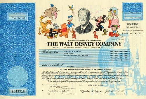 Disney Aktien kaufen