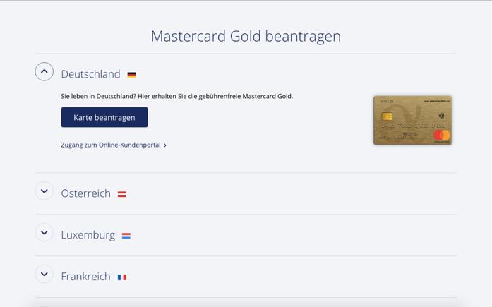 Alle Infos über die Advanzia Bank Mastercard Gold finden Sie hier