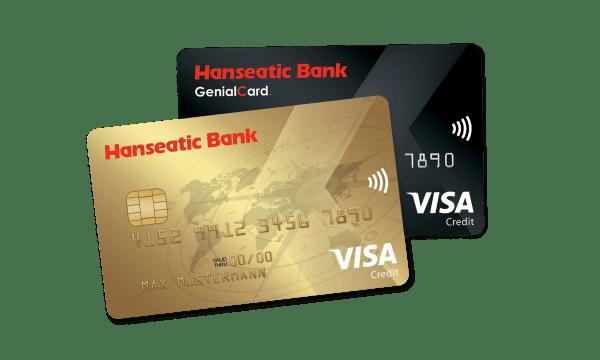 Alle Infos zur Hanseatic Bank Genial Card finden Sie hier – Konditionen & Beantragung